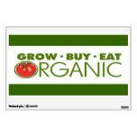 Organic Gardening Wall Graphics