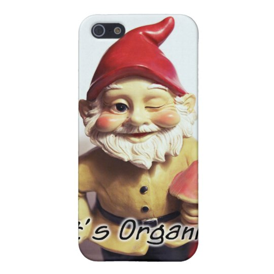Organic Gnome Case For iPhone SE/5/5s