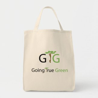 Organic Going True Green Grocery Bag