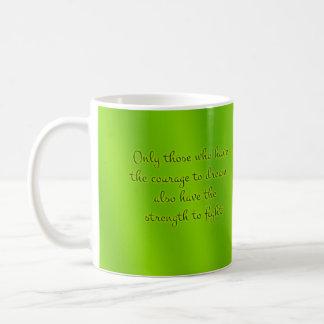 Organic Green Mandala Coffee Mug