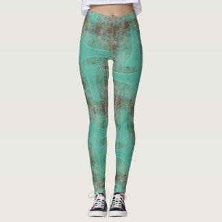 Organic Green Robot Leggings ★Psydefx★