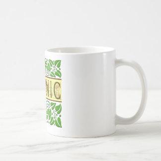 Organic Green Slogan Classic White Coffee Mug