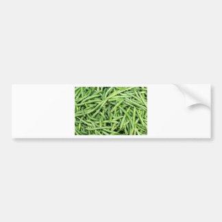 Organic Green Snap Beans Veggie Vegitarian Bumper Sticker