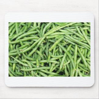 Organic Green Snap Beans Veggie Vegitarian Mouse Pad