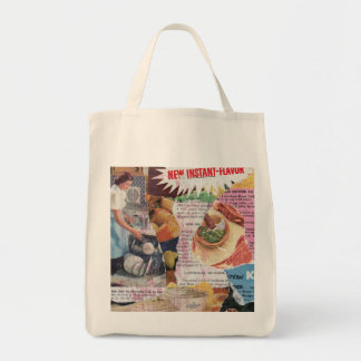 Organic Grocery Tote: Instant Flavor Tote Bag