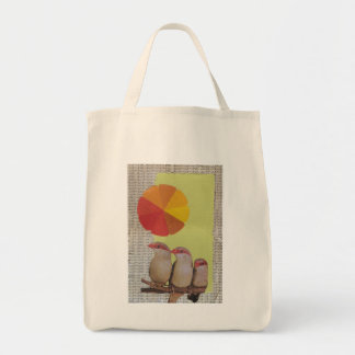 """Organic Grocery Tote: """"Shape and Color"""" Tote Bag"""