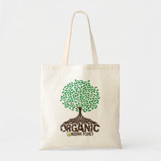 Organic Grown Tree Reusable Canvas Bag