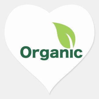 Organic Heart Sticker