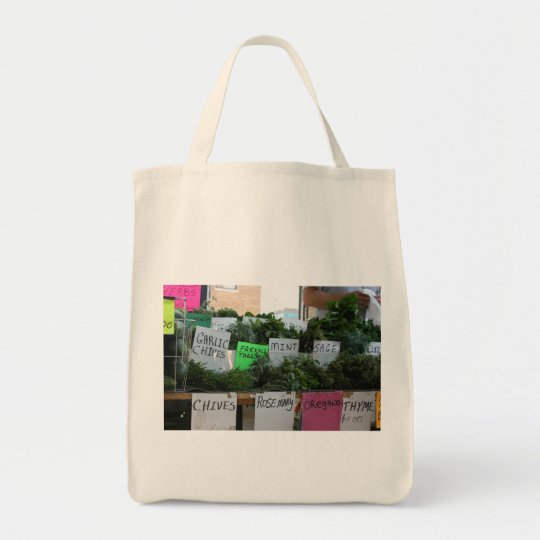 Organic Herbal Tote