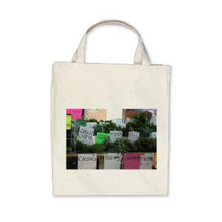 Organic Herbal Tote Canvas Bags