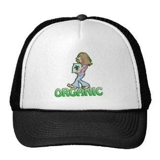 ORGANIC hippie with organic food Trucker Hat