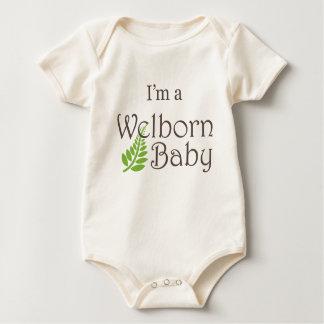 "Organic ""I'm a Welborn Baby Baby"" Baby Bodysuit"