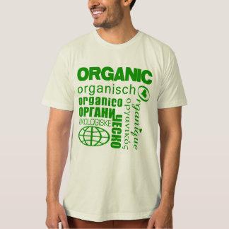 Organic in Many Languages Shirt