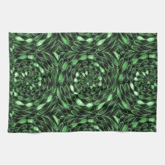 Organic INFINITE Green TRUE Colors LOVE Gifts 101 Hand Towel