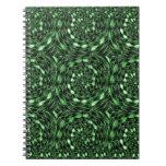 Organic INFINITE Green TRUE Colors LOVE Gifts 101 Spiral Notebook