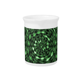 Organic INFINITE Green TRUE Colors LOVE Gifts 101 Beverage Pitchers