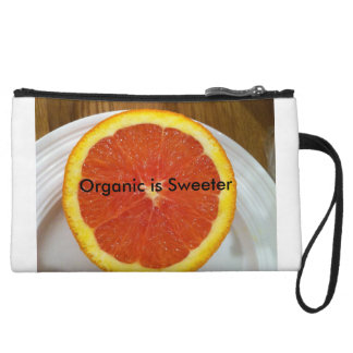 Organic is Sweeter Wristlet