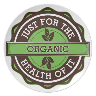 Organic Just For the Health of It Dinner Plate