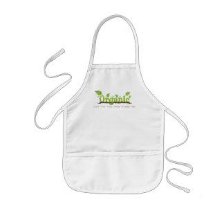 Organic kids' Christian baking/cooking apron