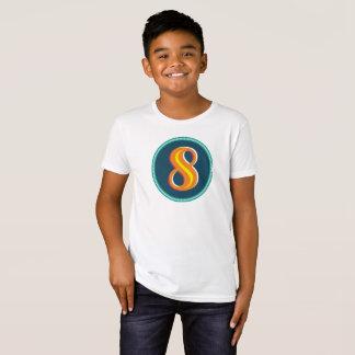 Organic Kids Number 8 T-Shirt