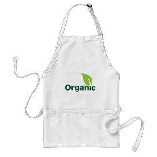 Organic leaf adult apron