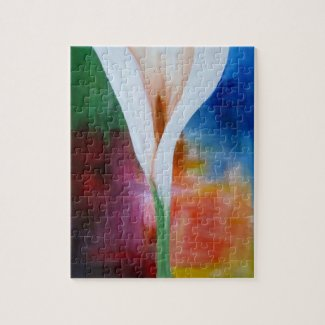 Organic Lilly by Alicia L. McDaniel Jigsaw Puzzle