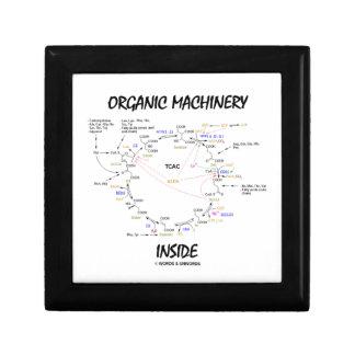 Organic Machinery Inside (Krebs Cycle) Jewelry Box