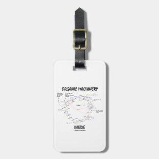 Organic Machinery Inside (Krebs Cycle) Travel Bag Tags