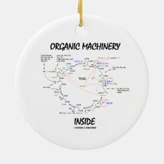 Organic Machinery Inside (Krebs Cycle) Christmas Ornament