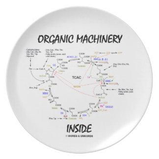 Organic Machinery Inside (Krebs Cycle) Plates