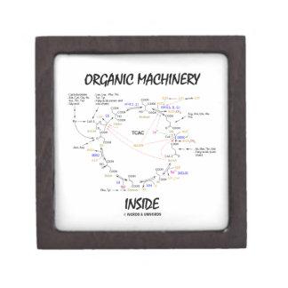 Organic Machinery Inside (Krebs Cycle) Premium Keepsake Boxes