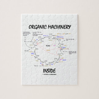 Organic Machinery Inside (Krebs Cycle) Puzzles