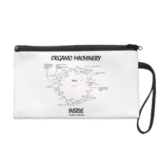 Organic Machinery Inside (Krebs Cycle) Wristlet