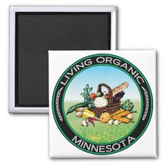 Organic Minnesota Magnet