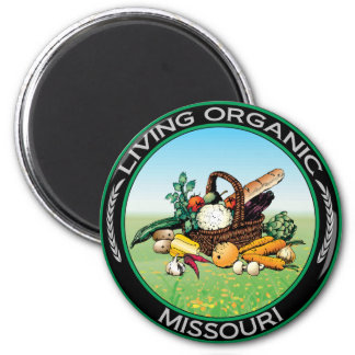 Organic Missouri Magnet