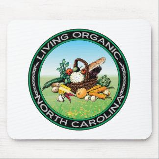 Organic North Carolina Mouse Pad