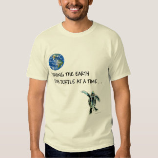 ORGANIC: ONE TURTLE AT A TIME T-Shirt