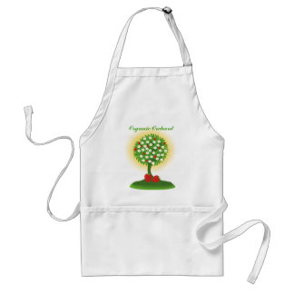 Organic Orchard Adult Apron