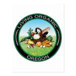 Organic Oregon Post Card