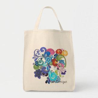 Organic paisley floral bag