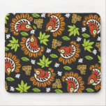 Organic Paisley ( with black) Mousepad