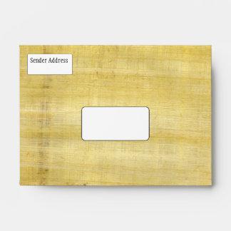 Organic Papyrus Texture 2 Envelope