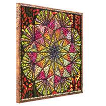 organic pattern collage canvas print