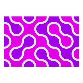 Organic pattern pink and white textured print