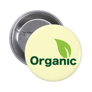 Organic Pinback Button