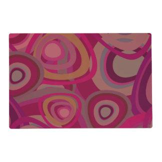 Organic pink placemat