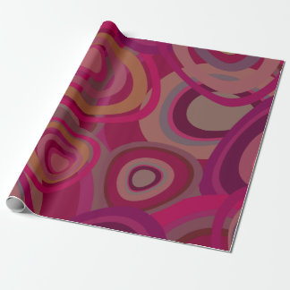 Organic pink wrapping paper
