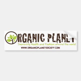 Organic Planet Bumper Stickers