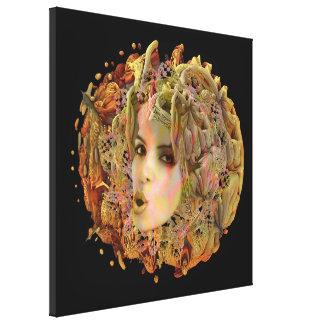 Organic Planet Canvas Prints