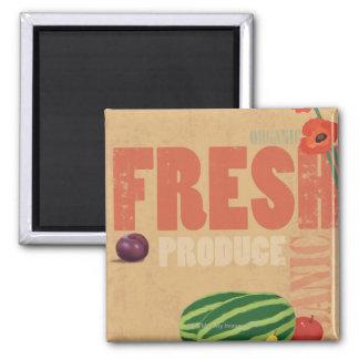 Organic Produce Magnet